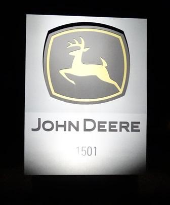 John Deere Sign After