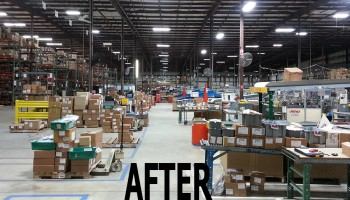 Warehouse After Photo