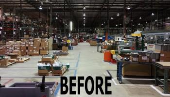 Warehouse Before Photo